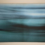 Contemplation (in ocean blue)  24.5 x 37 inches; Digital print on canvas, (4/10) $600. SALE $499
